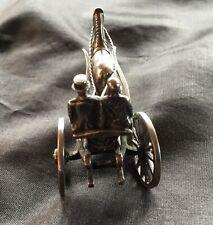Silver Antique Horse Driven cart
