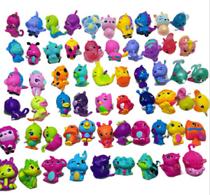 100Pcs Mixed SQUINKIES Toys Lot In Random With NO CONTAINERS For Children Gifts