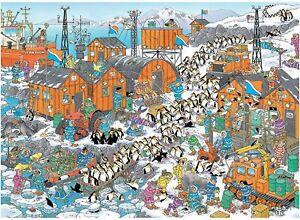 Jumbo - Jan Van Haasteren South Pole Expedition Puzzle 1000pc