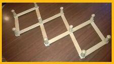 Appendiabiti da parete estensibile in legno per casa o ufficio PERFETTO