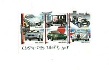 VINTAGE CLASSICS - MALDIVES 9718 - Classic Cars #2 - Sheet of 6 Stamps - MNH