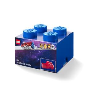 LEGO® 40031762 LEGO Aufbewahrungsbox, 4 Noppen,  LEGO MOVIE 2, blau
