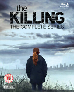 The Killing: The Complete Series Blu-Ray (2015) Mireille Enos cert 18 11 discs