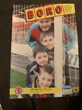 1991 Middlesbrough V Port Vale Football Programme
