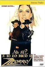 Dvd AH SI ? E IO LO DICO A ZORRO - (1975)  ......NUOVO