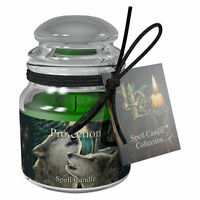 Spell Candle Protection by Lisa Parker with Spell - Lavender Scented