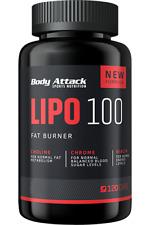 BODY ATTACK - LIPO 100 - 60cps - Coadiuvante per il controllo del peso