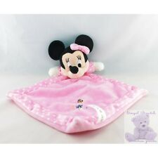 13568 - Doudou plat minnie rose pois coccinelle DISNEY - Security blanket