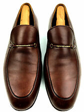 Bally Bacoli 1011 Brown Dress Men's Loafers  Size 9.5 USA.