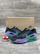 Nike Air Max 90 Premium Black Stadium Green Violet Purple OG 532470-035 size 11