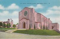 Postcard US Naval Hospital Chapel San Diego CA