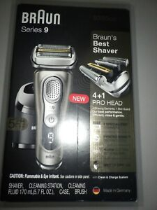 Braun Electric Razor for Men, Series 9 9385cc, Electric Shaver, Pop-Up Precision