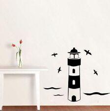 Leuchtturm Dielen Wandtattoo Wallpaper Wand Schmuck 44 x 56 cm Wandbild