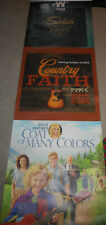 RARE!! Dolly Parton Coat Of Many Colors Vinyl Poster Banner