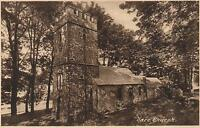 1910's VINTAGE OARE CHURCH in the DOONE VALLEY POSTCARD - FRITH'S SERIES #45671
