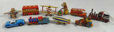 10 x ZZ Germany Tin Toys, Collection of Tin Toys, Bundle, Joblot, Decorations
