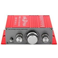 Hi-Fi Stereo Audio AMP Amplifier for Home Car Motorcycle DVD MP4 Speaker