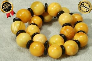 BALTIC NATURAL YELLOW COLOUR AMBER BRACELET 8 GRAMS COLLECTIBLE AMBER