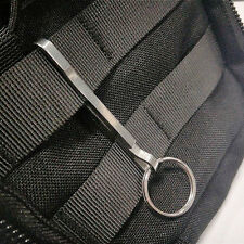 New Titanium Alloy Outdoor Hanging Buckle Hook Keychain EDC Quickdraw Key Ring