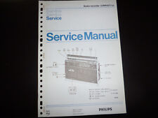 Original Service Manual  Philips  Philips 222RR437