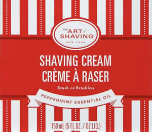 The Art of Shaving Men's Limited Edition Peppermint Oil Shaving Cream 5.0 oz