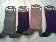 NEW  LADIES CUTE LEG WARMERS...lot of 3 pairs...CROCHET