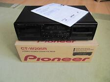 Pioneer CT-W205R, Double Cassette Deck, gepflegt