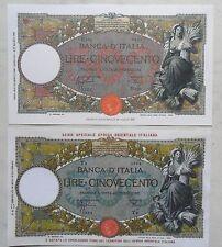 500 lire REPUBBLICHE MARINARE CAPRANESI + 500 lire REPUBBLICHE MARINARE (COPIE)