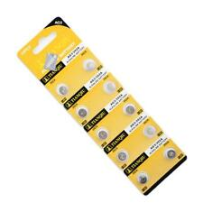 10pcs AG3 384 392 SR41W SR41 L736 Alkaline Coin Cell Button Batteries For Watch