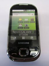 Samsung GT-I5500 Galaxy 5 Ebony Black Shop Dummy Kids Toy Mobile Joke Phone