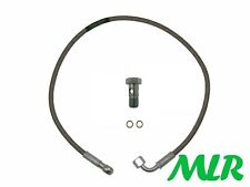 VW POLO BORA PASSAT GOLF 1.9 TDI PD BRAIDED TURBO OIL FEED HOSE PIPE YWB