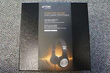 TDK STi710 High Fidelity Noise Cancelling Over-Ear Headphones - BLACK/CHROME