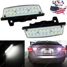 LED License Plate Light Lamps White For Nissan Altima Maxima Murano 2003 - 2015
