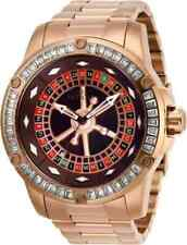 New Mens Invicta 28714 Specialty Casino Automatic Crystal Red Dial Watch