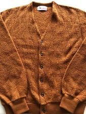 Vintage Revere Sweater Cardigan Cobain Grunge Young Breed Sz L Euc 60s 70s Golf