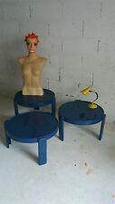 2 Tables basses vintage années 70 80 design Sottsass made in Italy