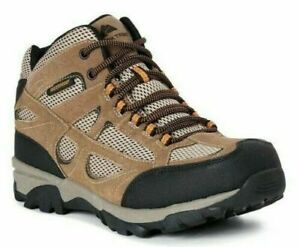 Ozark Trail Men Hiking Mid Vented Waterproof lace up Boots 7, 9, 9.5, 11, 13 NWT