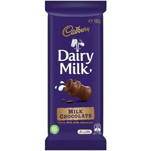10 X Cadbury Dairy Milk Chocolate BIG BLOCK 180g FREE POSTAGE