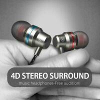 HIFI Super Bass Headset 3.5mm In-Ear Earphone Stereo Earbuds Kopfhörer Wire V6H1