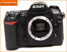 Nikon D200 10MP Numérique SLR Caméra Corps, + Gratuit Uk Poste