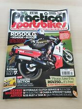 Practical Sportsbikes Magazine Issue 5 March 2011 RD500LC NS400R Every Katana