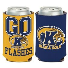 KENT STATE GOLDEN FLASHES NEOPRENE CAN BOTTLE COOZIE KOOZIE COOLER