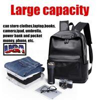 Men Women USB Port Waterproof Backpack School Bag Travel Handbag Laptop Rucksack