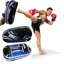 Pair Kick boxing  Arm Pads Strike Shield Punching Martial Arts MMA Mitt Curved