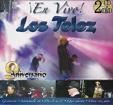 Los Telez en Vivo CD+DVD New sealed Nuevo