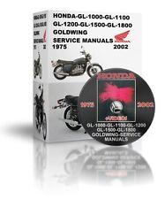HONDA-GL-1000-GL-1100-GL-1200-GL-1500-GL-1800-GOLDWING-SERVICE MANUALS DVD & VID