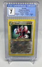 2001 Pokemon Black Star Promo SCIZOR Card #33 Vintage CGC 7 Subgrades 6, 7, 8, 9