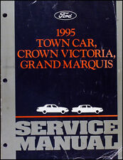 1995 Ford Shop Manual Lincoln Town Car Crown Victoria Grand Marquis Service