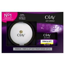 OLAY ANTI-WRINKLE FIRM & LIFT 50ML DAY CREAM WITH MIRROR GIFT SET