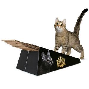 Omega Paw Scratch Mountain Ripple Board Cardboard Cat Scratcher